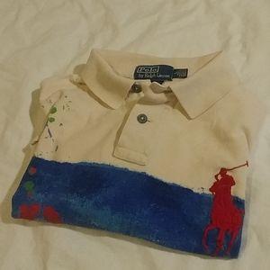 Polo Ralph Lauren water color polo shirt